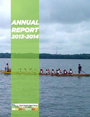 Catulpa Community Support Services Annual Report 2013-14