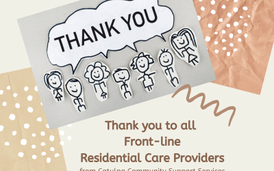 Thank you Front-Line Residential Care Providers